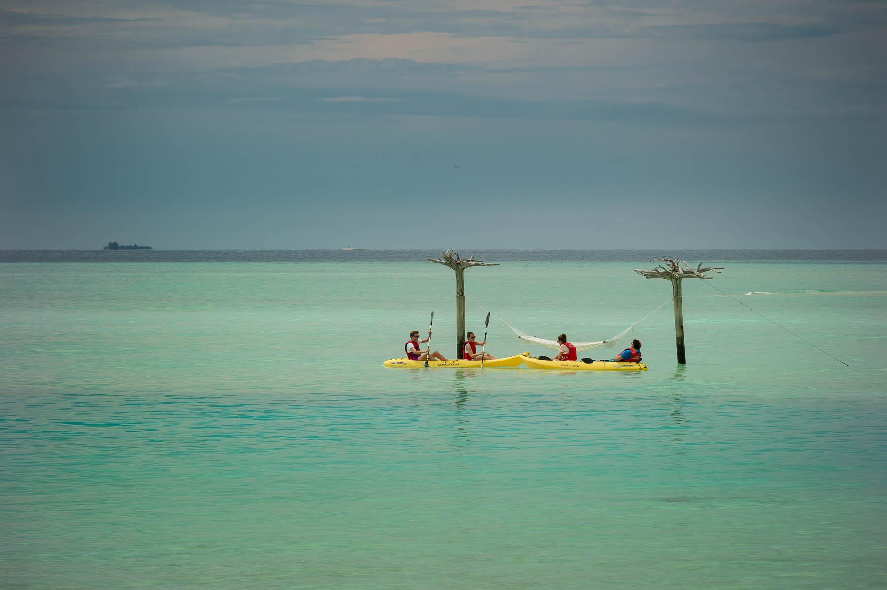 Anantara Dhigu beach swing