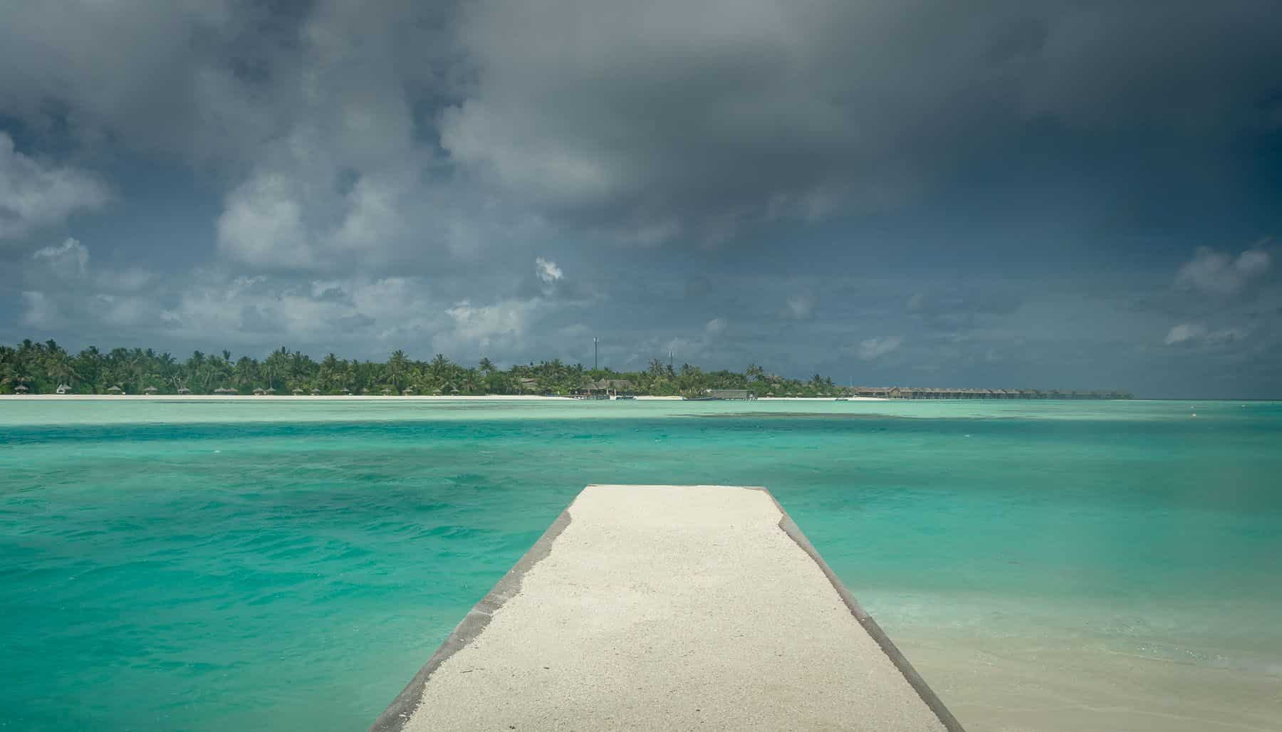 Anantara Naladhu jetty